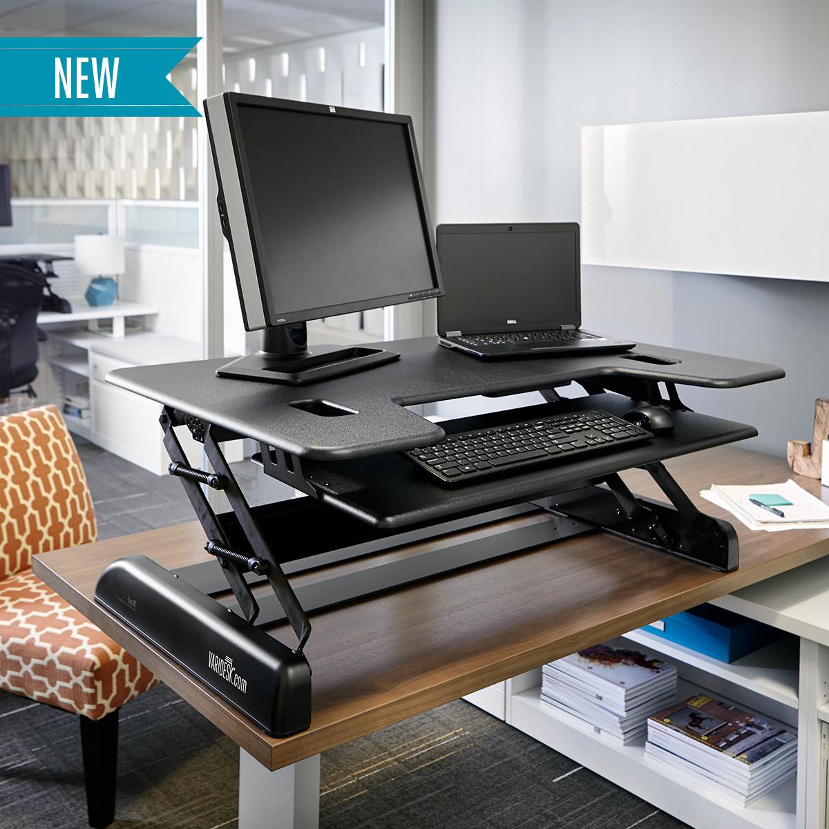 Standing Desks Executive Stand Up Desk: Adjustable Standing Desks
