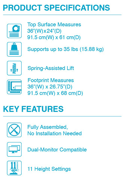 Products Adjustable Standing Desks Varidesk 174