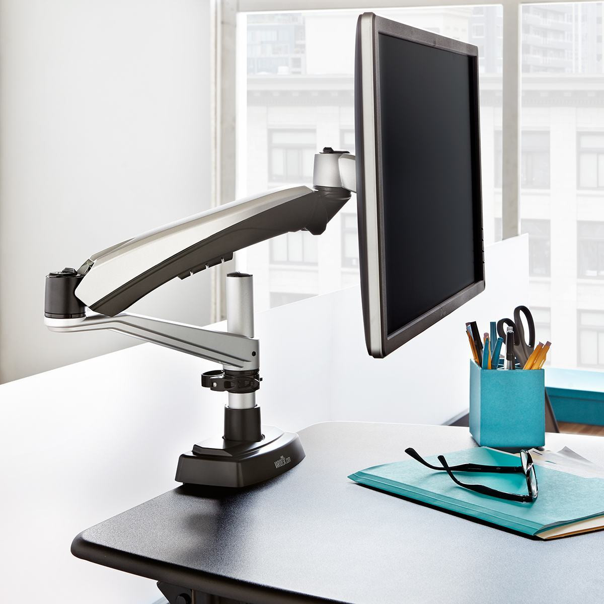 Single Monitor Arm Adjustable Standing Desks Varidesk 174