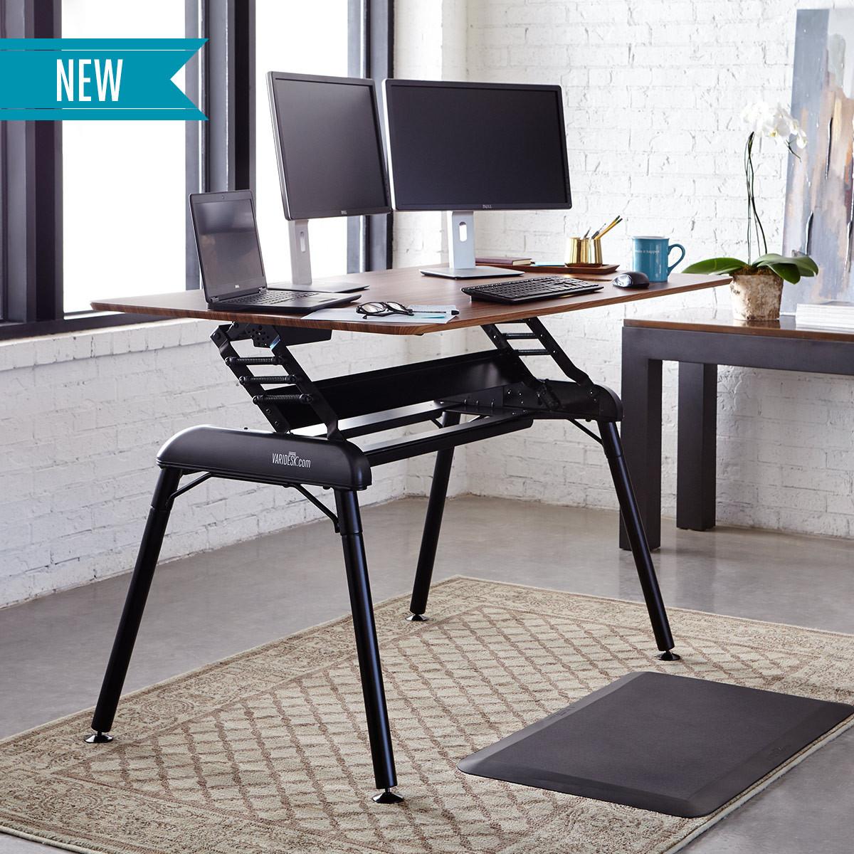 Pro Desk 60 Darkwood Adjustable Standing Desks Varidesk 174