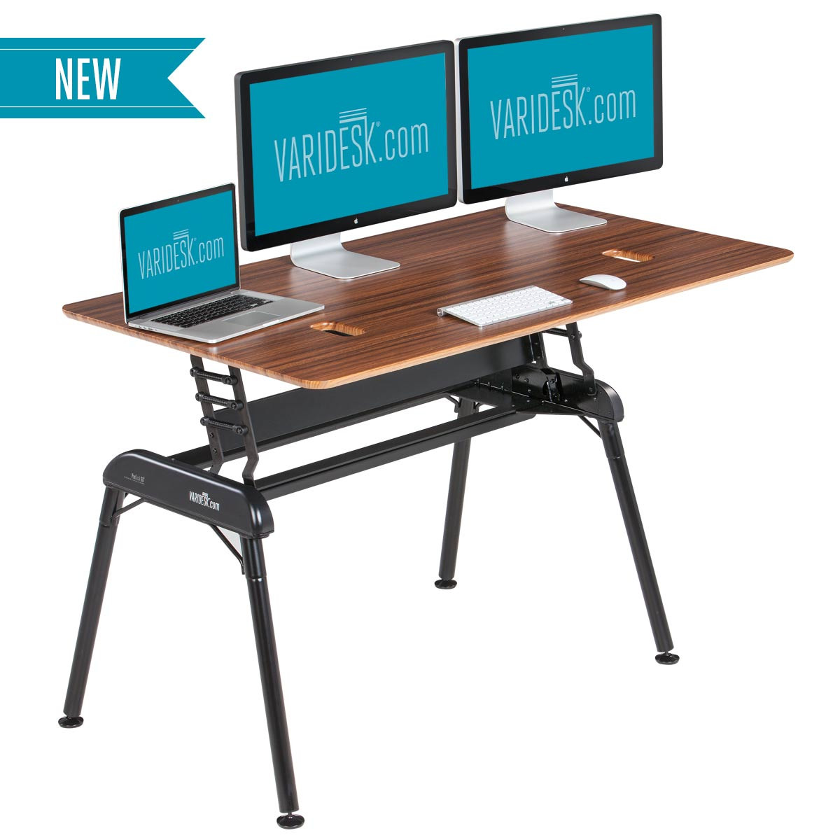 Pro Desk 60 Darkwood Adjustable Standing Desks Varidesk 174